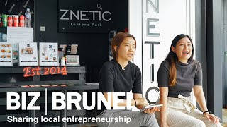 From car detailing to F&B, Znetic does business with a cause