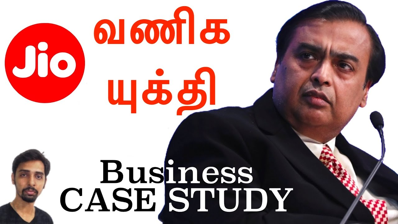 Jio Strategy - Business Case Study in Tamil | Dr V S Jithendra