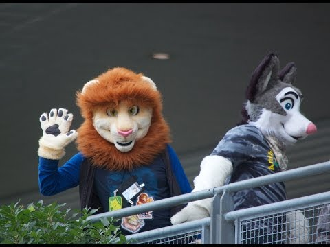 Anthrocon Convention in Pittsburgh - July 2015