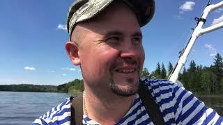 Отдых и Рыбалка на реке Иркут на комплекте Лодка Марлин 320 и Мотор Ямаха 9 9 15 Первая серия