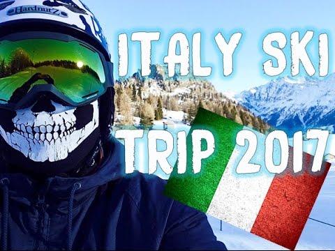 Italy Ski Video 2017