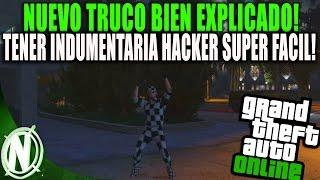 NUEVO TRUCO COMO TENER INDUMENTARIA HACKER BRUTAL! | GTA 5 INDUMENTARIA ESPECIAL SUPER FACIL!