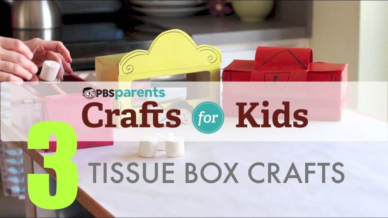 Tissue box projects 3 crafts 1 material crafts for kids pbs tissue box projects 3 crafts 1 material crafts for kids pbs parents youtube thecheapjerseys Gallery