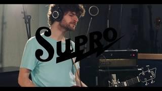 Michael League studio performance with Supro Huntington II Bass