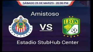 FIFA 17: Guadalajara |vs| Club León (Amistoso)