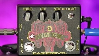 Review Demo - Daredevil Pedals Red Light District