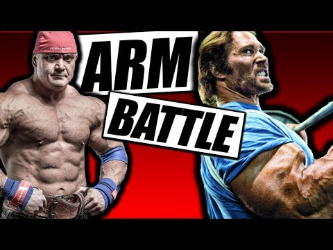 Arm Battle | Barbaric 4am 💪 Workout | Mike O'Hearn & Mark Bell