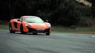 Jazda McLaren 650s jako pasażer – Tor Białystok video