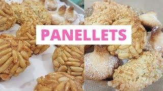 PANELLETS – RECETA TRADICIONAL de almendras,piñones y coco