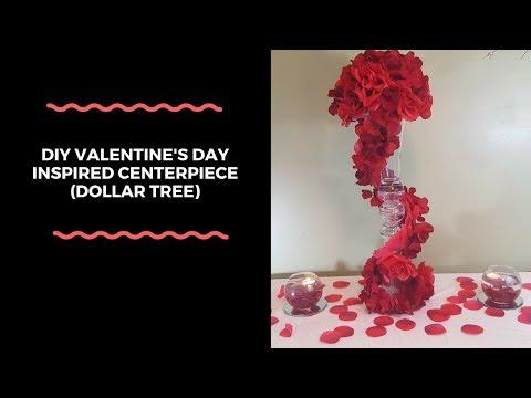 DIY Valentine's Day Centerpiece (Dollar Tree)