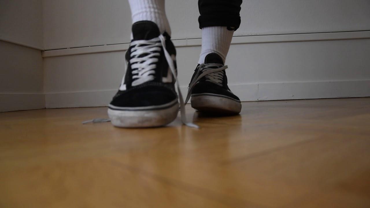 Vans Old Skool and Nike Socks