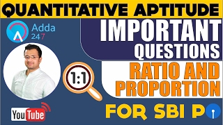 Ratio and Proportion - Top 10 most important qu...
