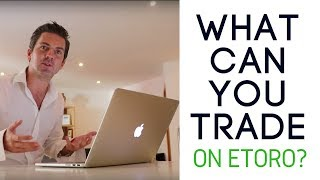 What Can You Trąde on Etoro?