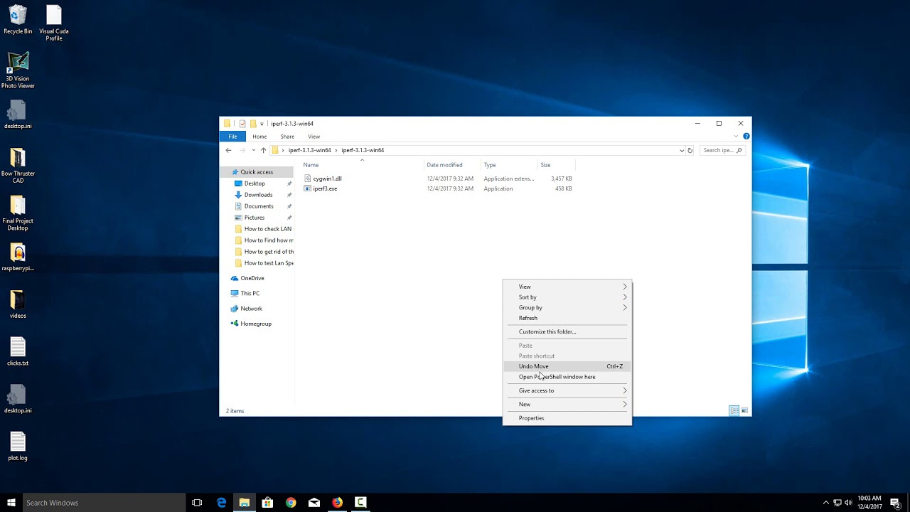 Windows 10 How to Open Command Prompt in Current Folder or Directory