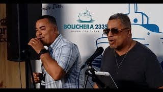 Hrmnos  Moreno Cantaron en Vivo en Cebicheria Bolichera2335 Lince