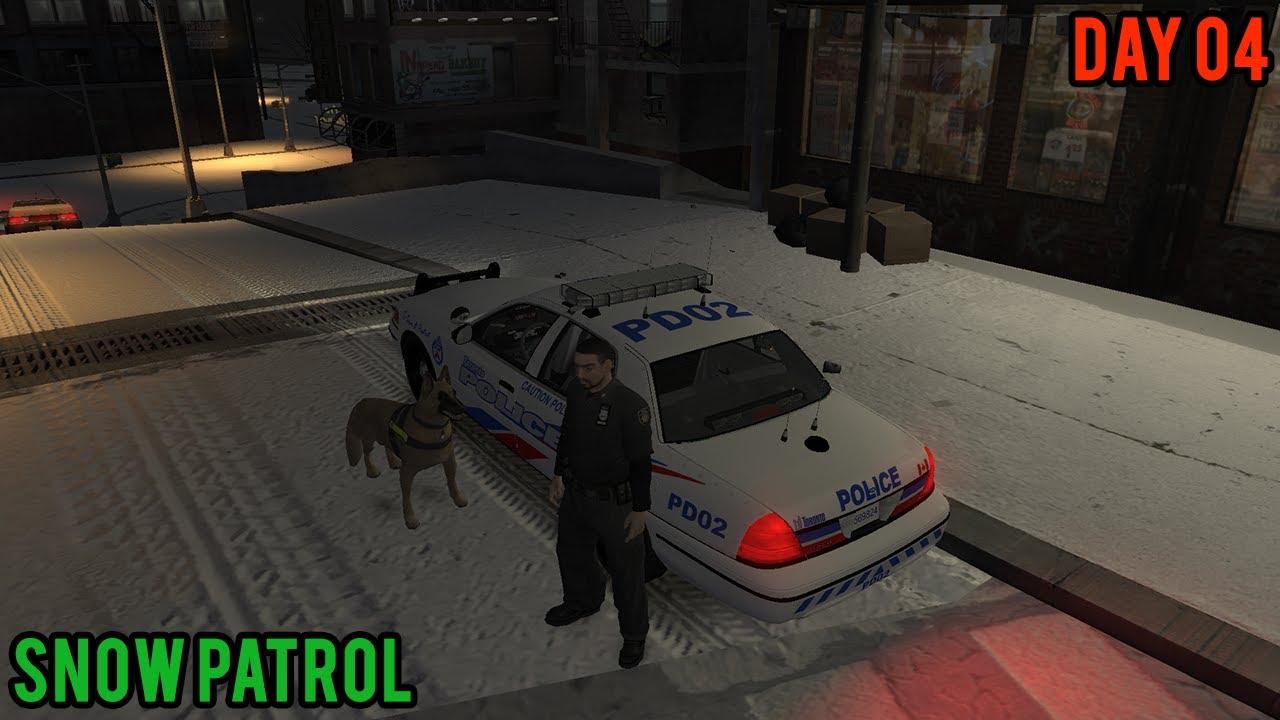 GTA IV: LCPDFR v0 95 - Snow Patrol + K9 Script - Multiplayer   Episode 04  (HD) by DCP1293