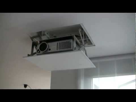 Motorized Remote Projector Lift