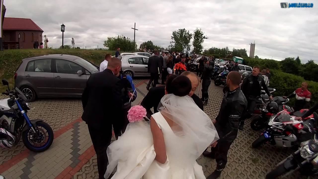 ślub Motocyklisty Paweł I Marlena Fabiq Moto Vlog Youtube