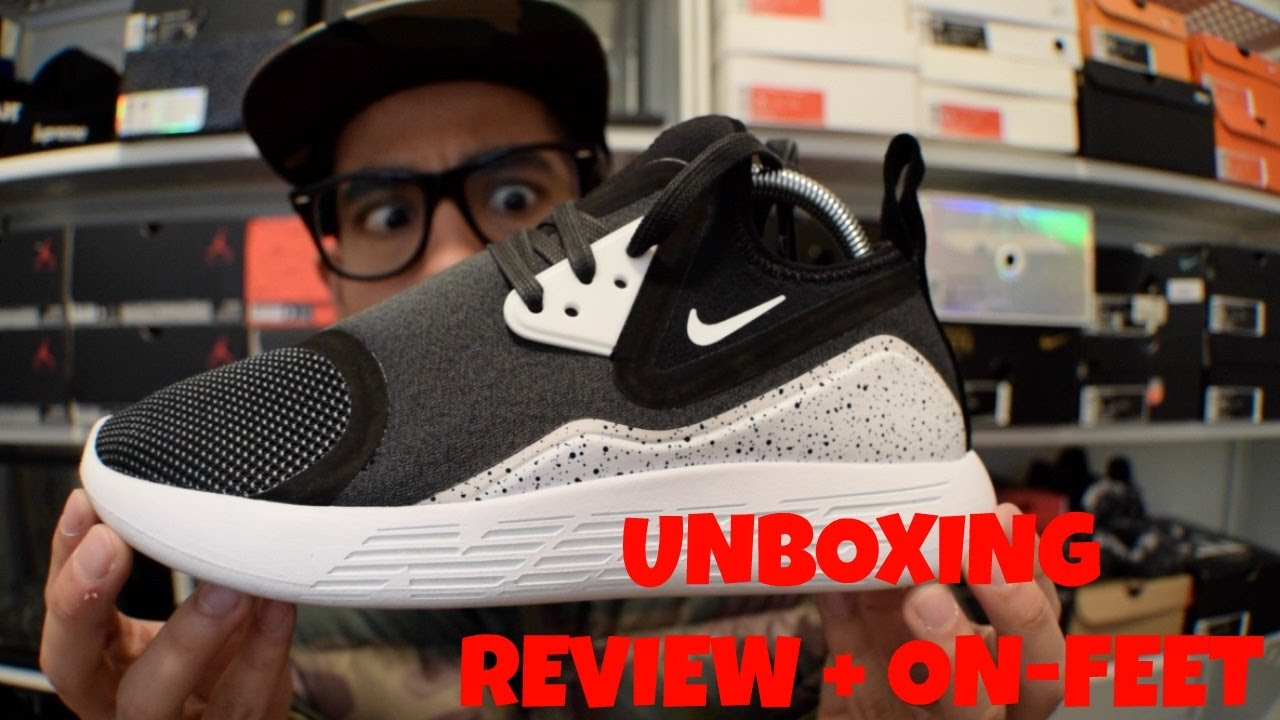 premium selection 56d9c c26a8 Nike LunarCharge - REVIEW + ON-FEET - YouTube