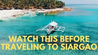 Watch this before traveling to Siargao - The Philippines Travel Vlog