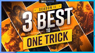 3 BEST CHAMPIONS T๐ ONE TRICK For EVERY Role In Season 11! - League of Legends Guide