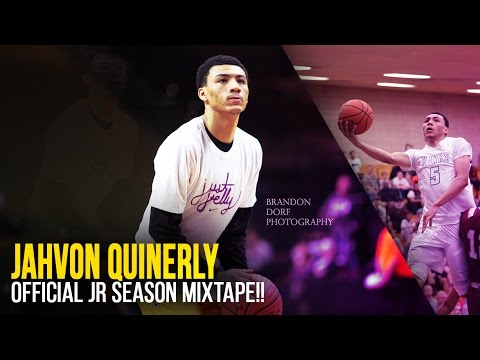 4a3262cab257 Jahvon Quinerly Junior Season OFFICIAL Mixtape!! 5-Star Guard - JellyFam!!