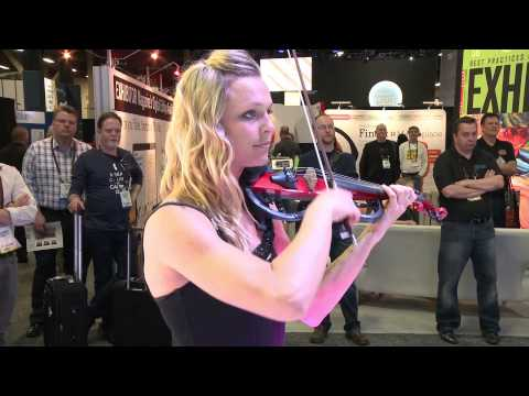 GES Earth Harp at Exhibitor 2014