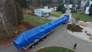 Gambar cover drone video - P. Adams - Heavy transport - Nadměrný náklad - Schwertransport  - part 3