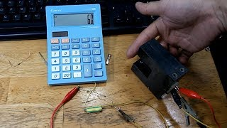 Modify A Calculator Into A Tachometer Meter