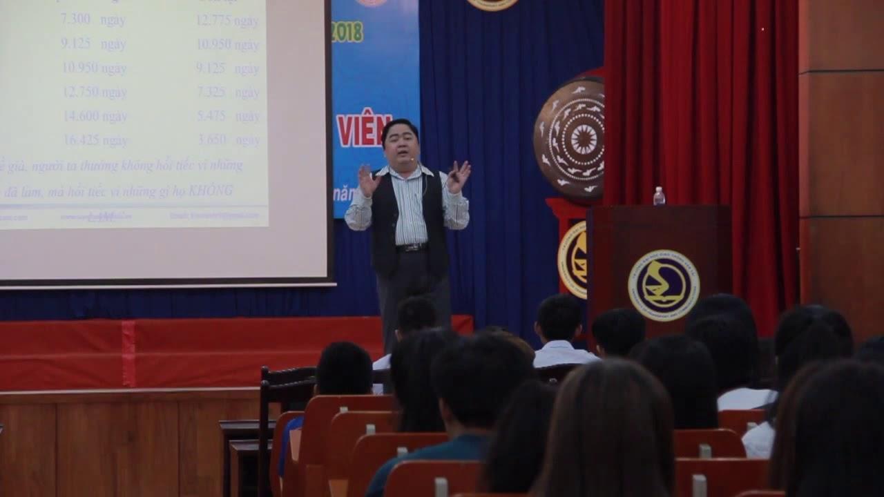 Diễn giả nói về Các yếu tố ảnh hưởng | Thuyết trình chuyên đề Quản trị cuộc đời | 2017.09.21.(07)