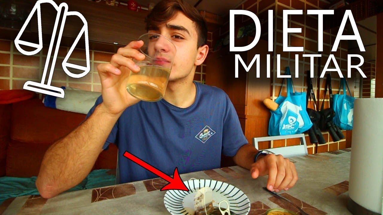 la dieta mas efectiva militar