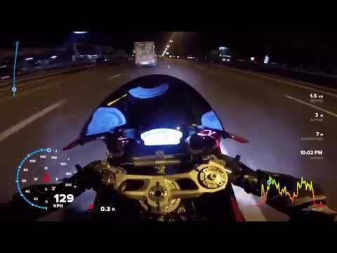 ลองเทียบมาตรวัดความเร็ว ระหว่าง GPS กับ ไมล์รถ Ducati 899 Panigale