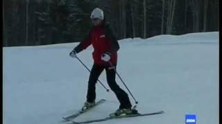 видео Як навчити дитину кататися на гірських лижах?