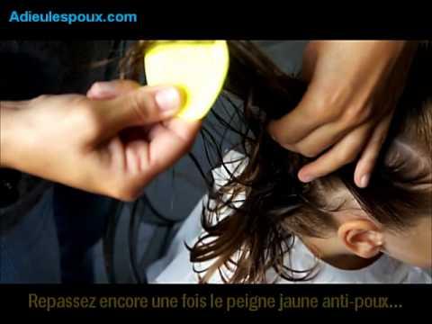 adieu les poux le traitement naturel et efficace contre les poux et les lentes youtube - Poux Sur Cheveux Colors