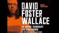 David Foster Wallace - Die wahre Traurigkeit der Erwachsenen
