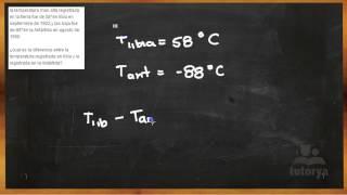 Diferencia de Temperaturas