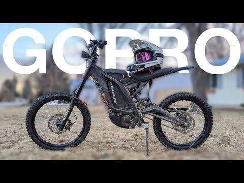 Best GoPro Mount For Dirt Bikes +72v Surron X