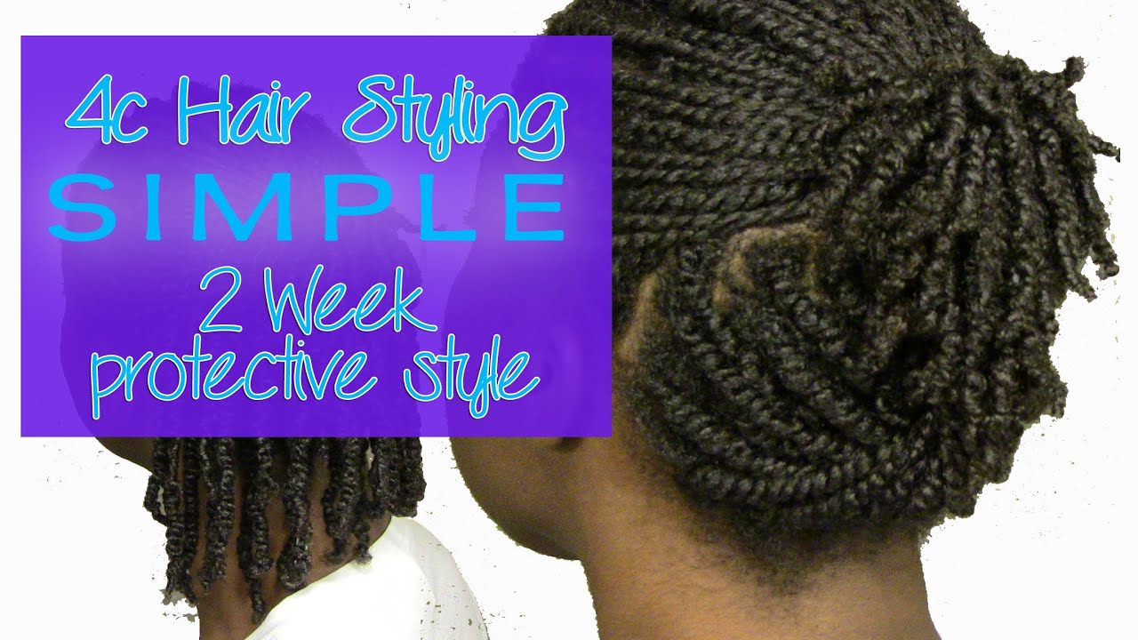 Hair Styles For Summer: Two Week Protective Style