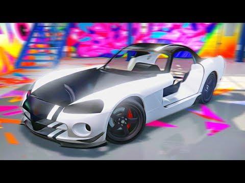 Реальная Жизнь в GTA 5 - Dodge Viper SRT С НУЛЯ!