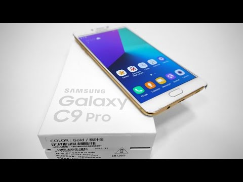 Samsung Galaxy C9 Pro (6GB RAM | Snapdragon 653 | 16MP) - Unboxing & Hands On!