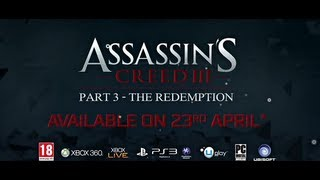 Assassin's Creed 3 Trailer Tyrannie du roi Washington Episode 3 : Redemption  | Le pouvoir de l'ours