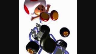 Toads Scream Mario Kart