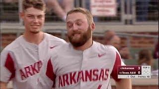 Arkansas Razorback Baseball - Game 53 vs Texas A&M (Game 1)