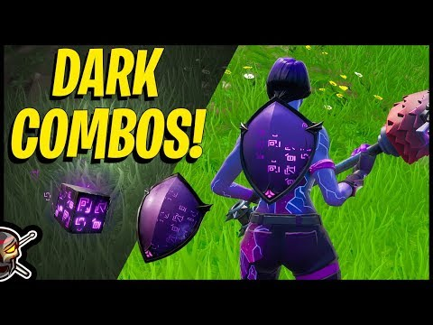 Fortnite COMBOS With The DARK SHIELD And WILD CUBE - Dark Reflections Pack In Fortnite