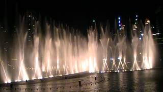 Dubai Fountain - Michael Jackson - Thriller high quality