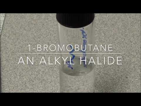 preparation of 1 bromobutane and reactivity of