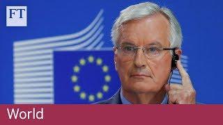 EU's Barnier 'ready to improve' post-Brexit Irish border offer