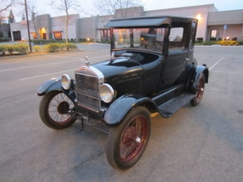 1926 Ford Model T Coupe (Doctors Coupe) on GovLiquidation.com