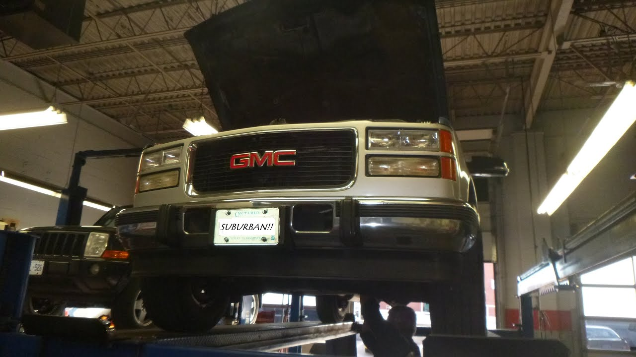 1996 Suburban 6.5 TD Transmission 4L80E Shaft Seal Fix and ...