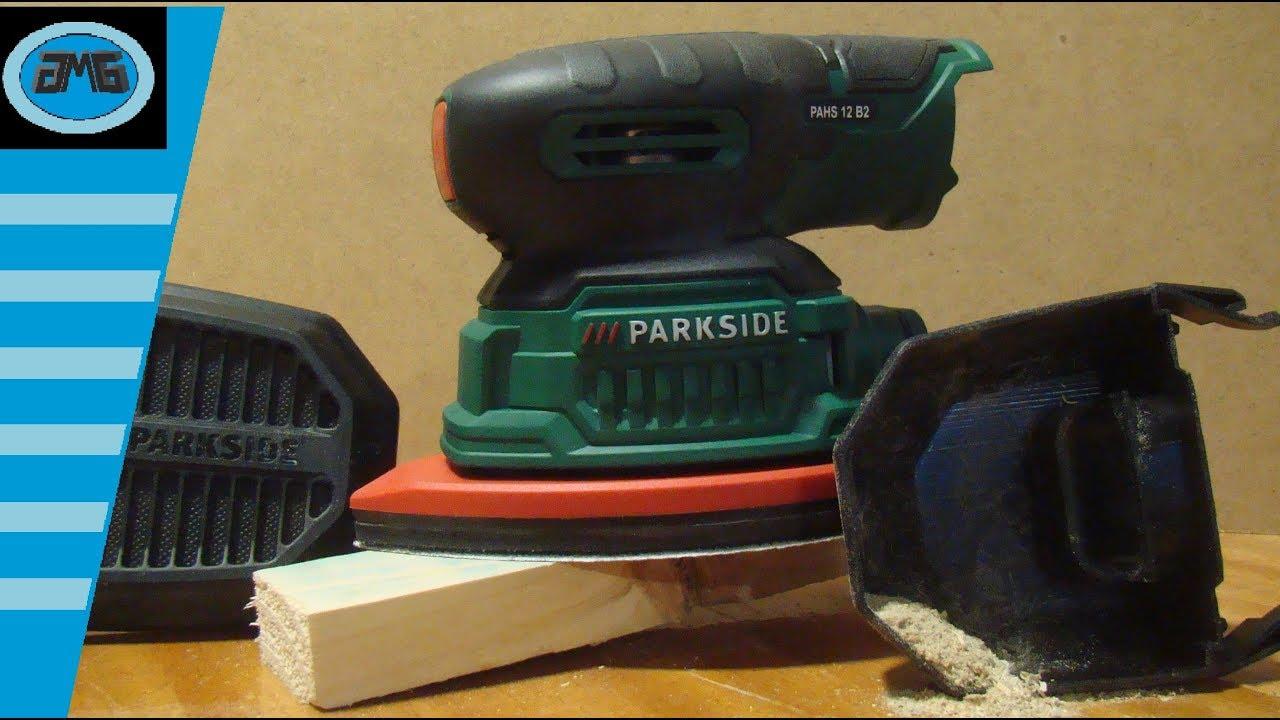 Parkside cordless detail sander pahs 12 b2 for Levigatrice a penna multifunzione parkside